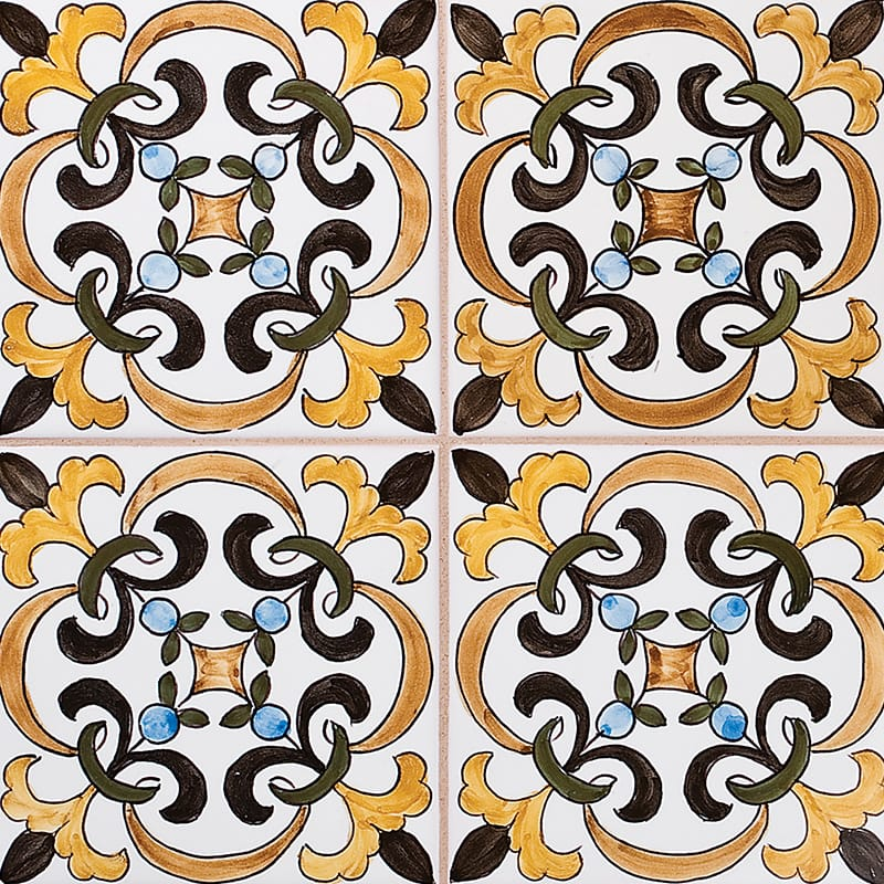 224 Roseira Parda Glazed 5 1/2x5 1/2 Ceramic Tiles 5 1/2x5 1/2