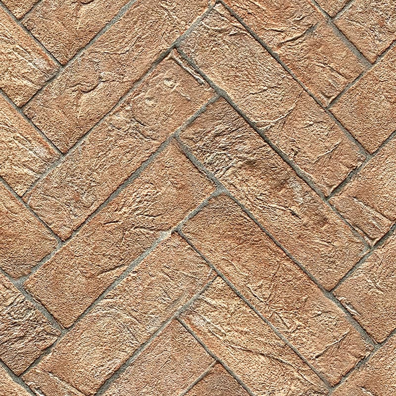 Rectangle Medievale Terracotta Tiles 2 3/4x11