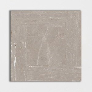 Fawn Grey Polished Downtown Marble Patterns 24x24