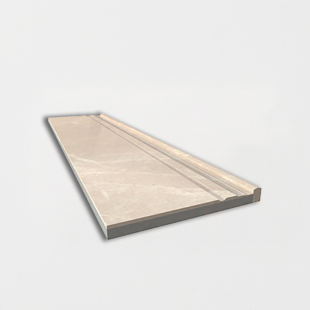 Marfil Supreme Polished Marble Baseboards 6x24