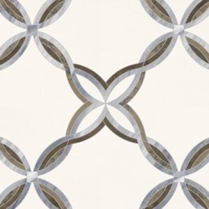 Grace Wj Polished Marble Mosaics 11 5/8x11 5/8
