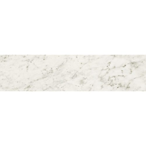 Bianco Carrara Polished Porcelain Tiles 3×12