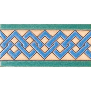 157 A Glazed Ceramic Borders 3x6