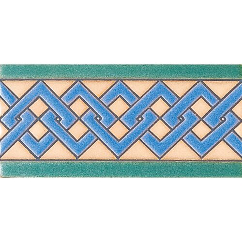 157 A Glazed Ceramic Borders 3×6