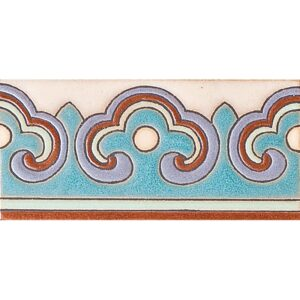 371 B Glazed Ceramic Borders 3x6