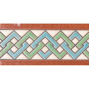 157 B Glazed Ceramic Borders 3x6