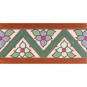 183 B Glazed Ceramic Borders 3x6