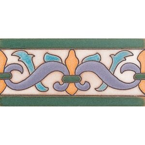 153 B Glazed Ceramic Borders 3x6