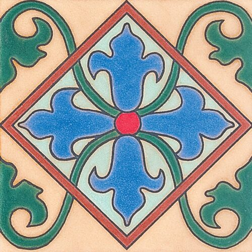 288 A Glazed Ceramic Tiles 6×6