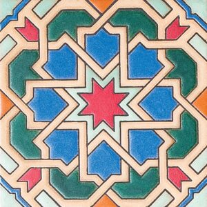 231 A Glazed Ceramic Tiles 6x6