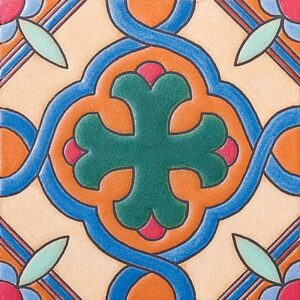 327 A Glazed Ceramic Tiles 6x6