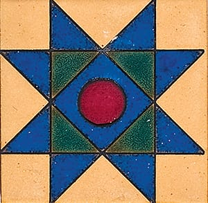 118 A Glazed Ceramic Tiles 4x4