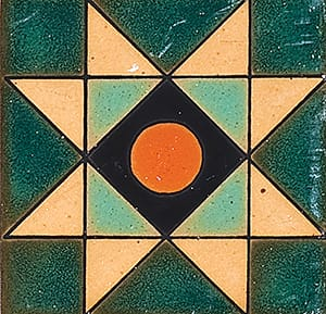 118 B Glazed Ceramic Tiles 4x4
