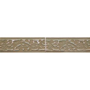126r A Glazed Vine Ceramic Borders 2x6
