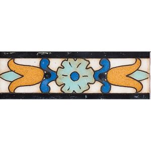 116 A Glazed Tulip Ceramic Borders 2x6