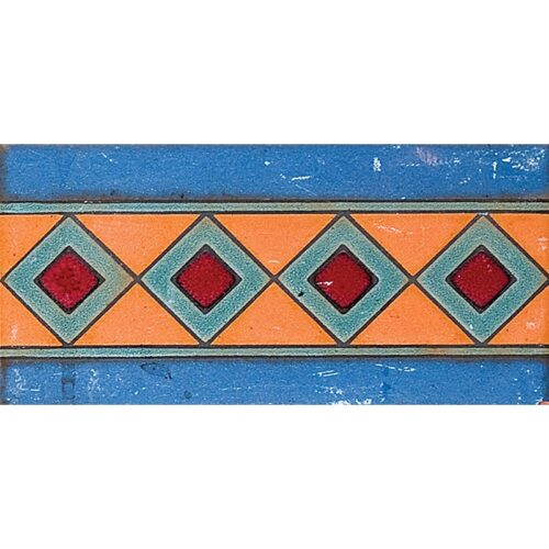111 B Glazed Diamond Ceramic Borders 3×6