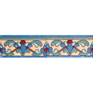 1591 B Glazed Malibu Ceramic Borders 3x6