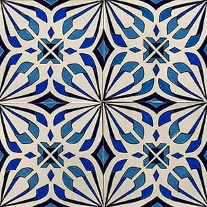Kaleidoscope Glossy Ceramic Tiles 4x4