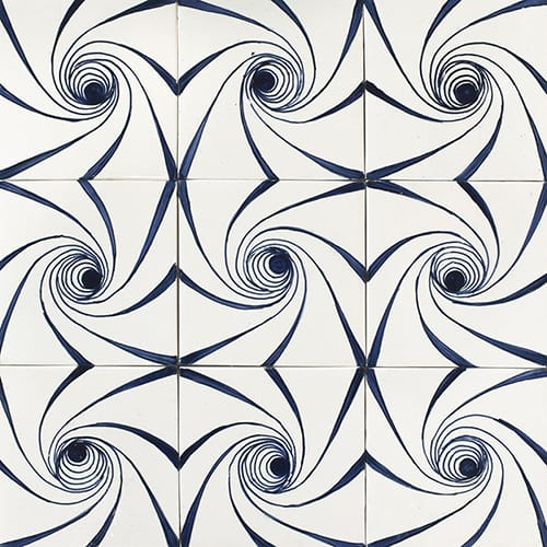 Twisted Glossy Ceramic Tiles 4×4