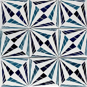 Wired Glossy Ceramic Tiles 4x4