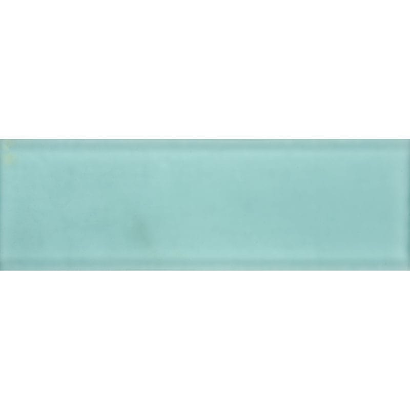 Grecianisle Satin Waterjet Glass Tiles 3x9