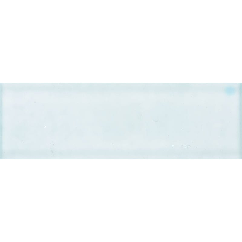 Aegean Satin Waterjet Glass Tiles 2x6