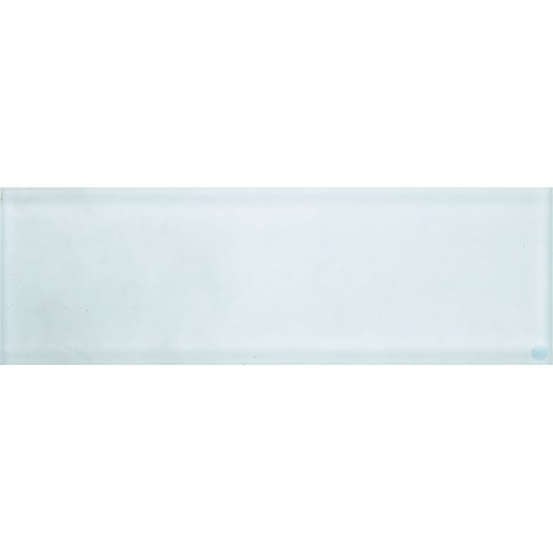 Aegean Satin Waterjet Glass Tiles 3x9