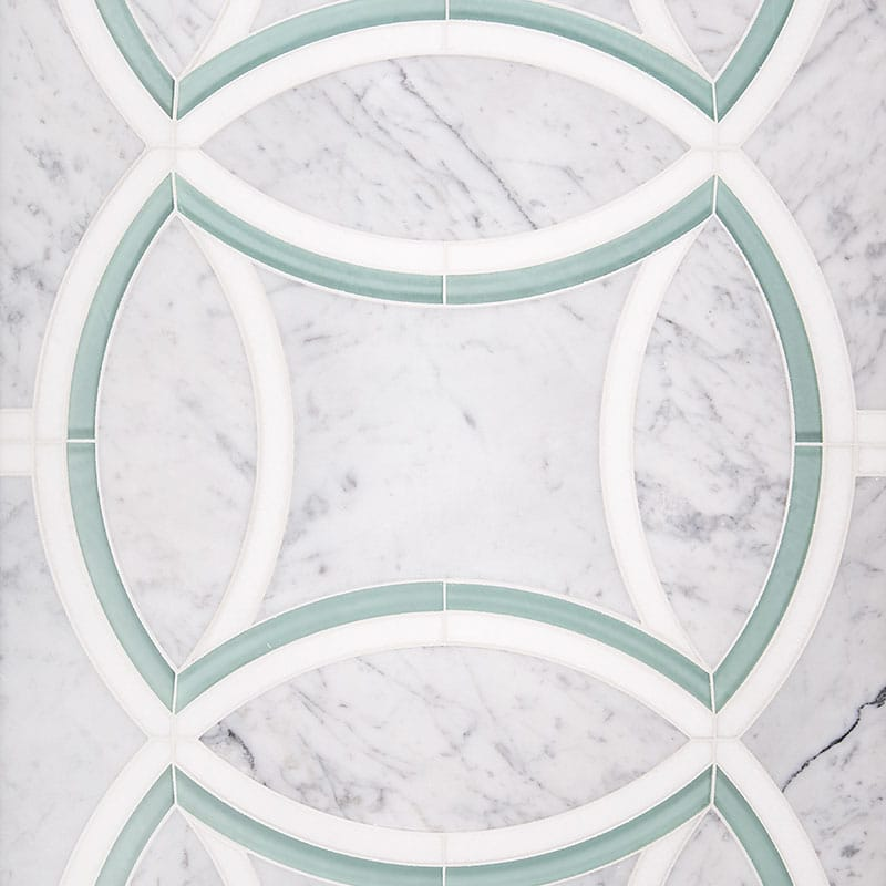 Concept Board Helios (a) Honed Concept Board Marble Mosaics 24x18