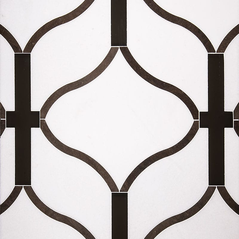 Concept Board Dionysus (a) Honed Concept Board Marble Mosaics 24x18