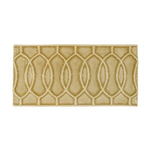 Pico Gold Glossy Vienna Ceramic Wall Decos 4x8