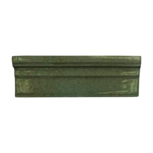 Tefusee Green Glossy Ogee Trim Ceramic Moldings 2x6