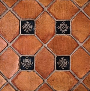 Picket Ohs Waxed Terracotta Tiles 3x5