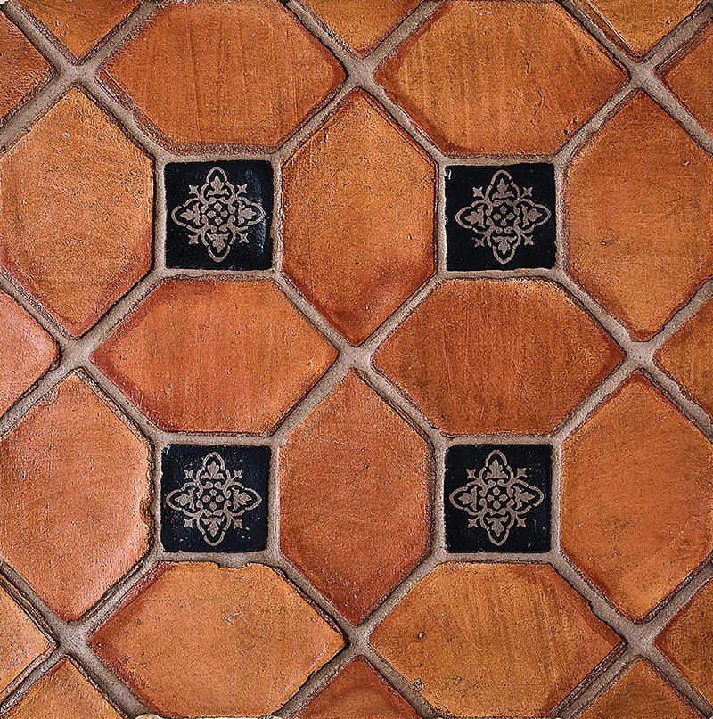 Picket Ohs Waxed Terracotta Tiles 3x5 Country Floors Of America Llc