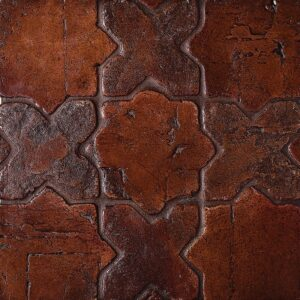 Star Vtg Waxed Terracotta Tiles 4x4