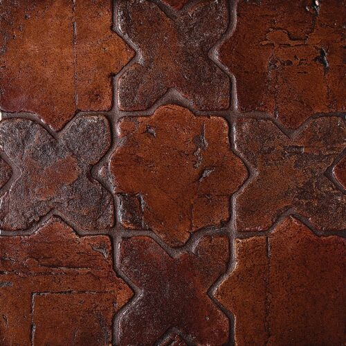 Star Vtg Waxed Terracotta Tiles 4×4
