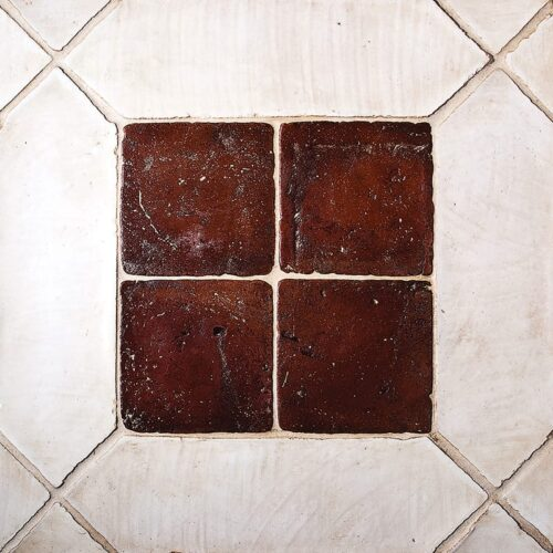 Picket Ohs Waxed Terracotta Tiles 5×17