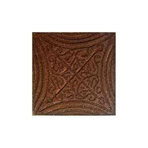 Brick Glazed Butin Ceramic Wall Decos 2x2