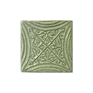 Mint Glazed Butin Ceramic Wall Decos 2x2