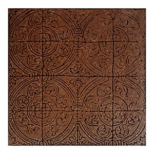 Brick Glazed Aquitaine Ceramic Wall Decos 6x6