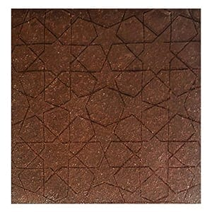 Brick Glazed Maroc Ceramic Wall Decos 6x6