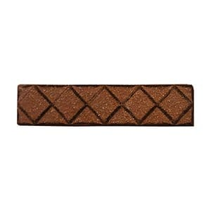 Brick Glazed Diamants Ceramic Moldings 1x6