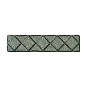 Green Tea Glazed Diamants Ceramic Moldings 1x6