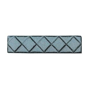 Blue Smoke Glazed Diamants Ceramic Moldings 1x6