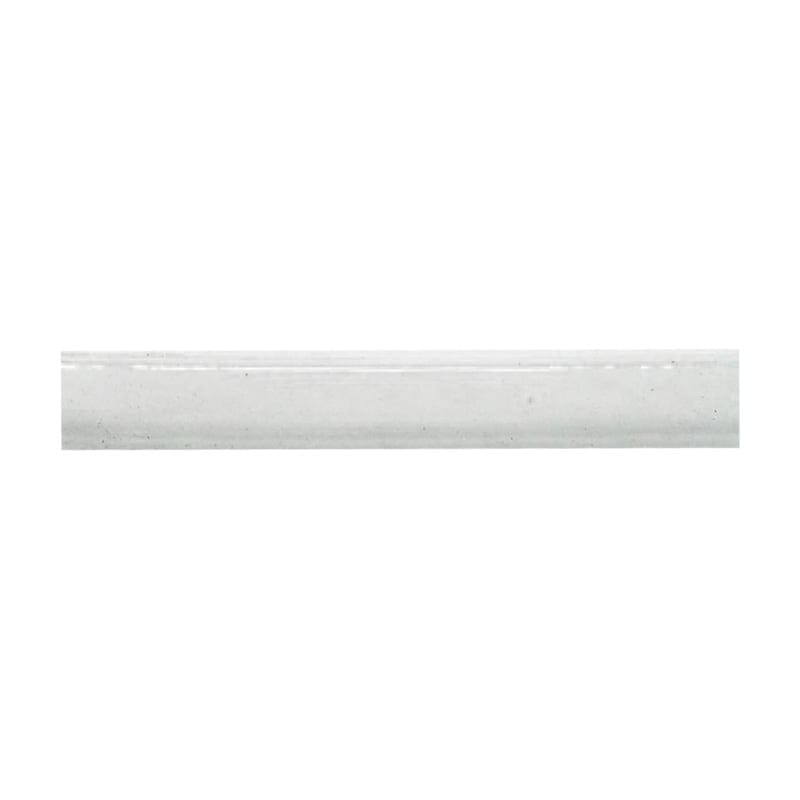 Glazed Architectural Molding : Blanc glazed quarter round ceramic moldings