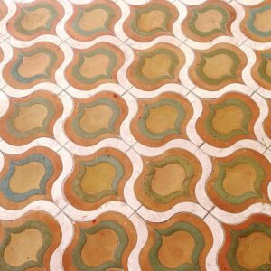 Cotto Matte Copa Terracotta Waterjet Decos 20x19