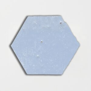 Sirena Sky Glazed Hexagon Terracotta Tiles 6x6