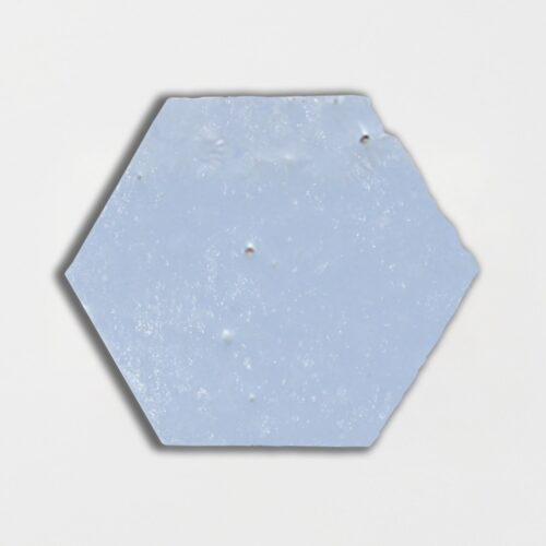 Sirena Sky Glazed Hexagon Terracotta Tiles 6×6