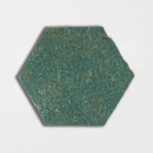 Joy Green Glazed Hexagon Terracotta Tiles 6x6