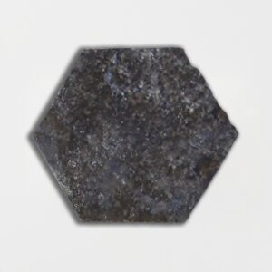 Boho Bronze Glazed Hexagon Terracotta Tiles 6x6