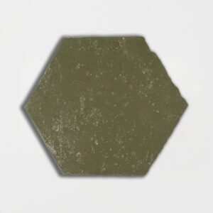 American Camo Glazed Hexagon Terracotta Tiles 6x6